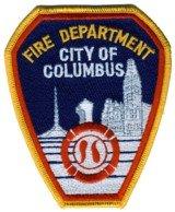 Abzeichen Fire Department City of Columbus