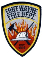 Abzeichen Fire Department Fort Wayne
