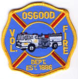 Abzeichen Volunteer Fire Department Osgood