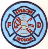 Abzeichen Fire Department Spencer