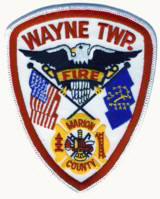 Abzeichen Fire Department Wayne Township