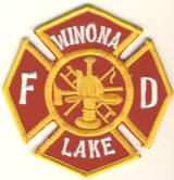 Abzeichen Fire Department Winona Lake