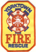 Abzeichen Fire and Rescue Yorktown
