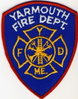 Abzeichen Fire Department Yarmouth