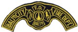 Abzeichen Fire Department Baltimore City