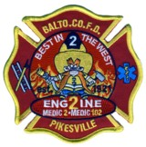 Abzeichen Fire Department Baltimore City / Engine 2 / Medic 2 / Medic 102