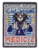 Abzeichen Fire Department Frederick County / Medic 2