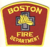 Abzeichen Fire Department City of Boston