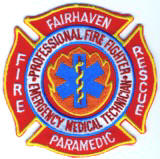 Abzeichen Fire and Rescue Fairhaven
