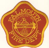 Abzeichen Fire Department Falmouth