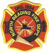 Abzeichen Fire Department North Reading