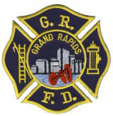 Abzeichen Fire Department Grand Rapids