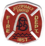 Abzeichen Fire Department Justifiably Proud