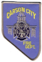 Abzeichen Fire Department Carson City