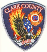 Abzeichen Fire Department Clark County