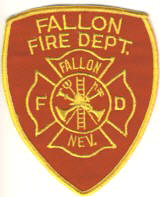 Abzeichen Fire Department Fallon