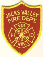 Abzeichen Fire Department Jacks Valley
