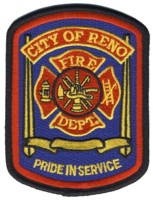 Abzeichen Fire Department City of Reno