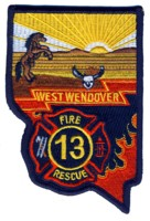 Abzeichen Fire and Rescue West Wendover