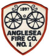 Abzeichen Volunteer Fire Company 1 Anglesea