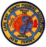 Abzeichen Firemens Association Cape May County