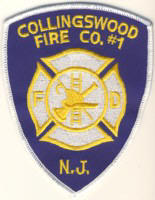 Abzeichen Fire Company No. 1 Collingswood