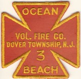 Abzeichen Volunteer Fire Company Dover Township