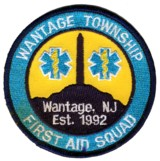Abzeichen First Aid Squad Wantage Township