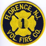 Abzeichen Volunteer Fire Company No. 1 Florence