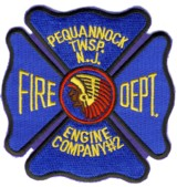 Abzeiche Fire Department Pequannock Township