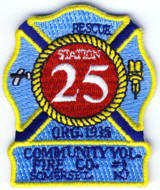Abzeichen Fire Company 25 Somerset