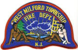 Abzeichen Fire Department West Milford Township