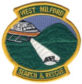 Abzeichen West Milford Search & Rescue
