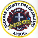 Abzeichen Fire Chaplains Broome County