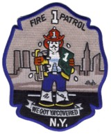 Abzeichen Fire Department City of New York / Fire Patrol 1