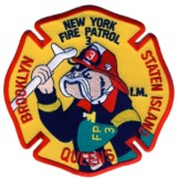 Abzeichen Fire Department City of New York / Fire Patrol 3