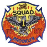 Abzeichen Fire Department City of New York / Squad 1