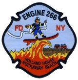 Abzeichen Fire Department City of New York / Engine 266