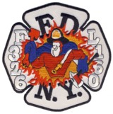 Abzeichen Fire Department City of New York / Engine 326 / Tower Ladder 160