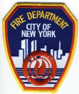 Abzeichen Fire Department City of New York