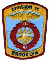 Abzeichen Fire Department City of New York / Dicision 11