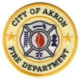Abzeichen Fire Department City of Akron