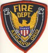 Abzeichen Fire Department Ashland