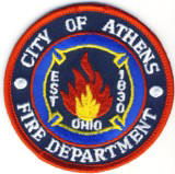 Abzeichen Fire Department City of Athems