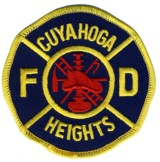 Abzeichen Fire Department Cuyahoga Heights