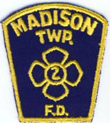 Abzeichen Fire Department Madison Township