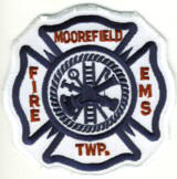 Abzeichen Fire Department Moorefield Township
