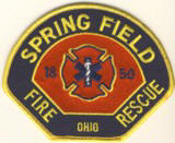 Abzeichen Fire and Rescue Spring Field