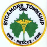 Abzeichen EMS - Rescue - Fire Sycamore Township