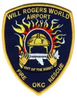 Abzeichen Fire and Rescue Will Rogers World Airport